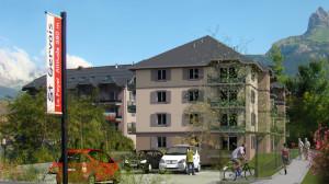 Nouvelle résidence au Fayet